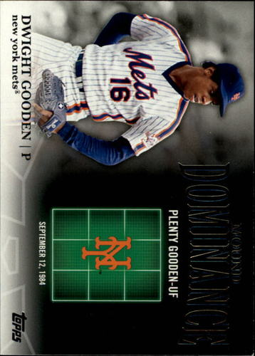 Photo of 2012 Topps Mound Dominance #MD15 Dwight Gooden