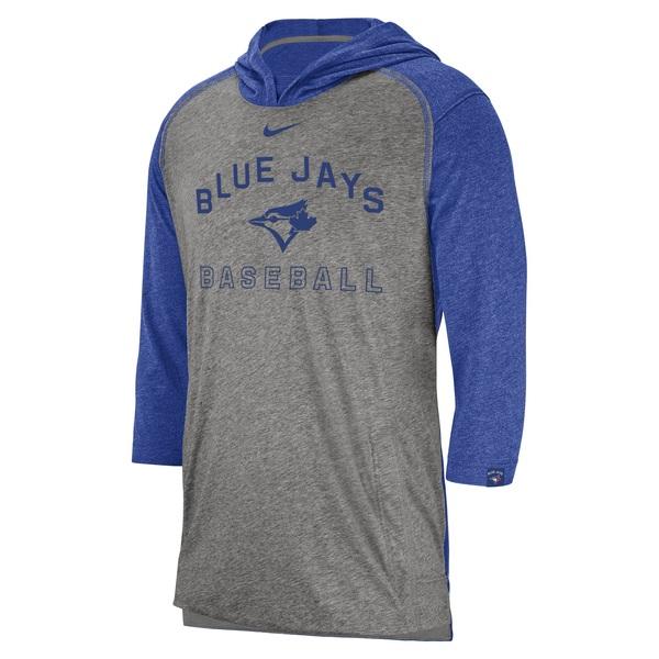 Toronto Blue Jays Flux 3/4 Sleeve Hoodie by Nike