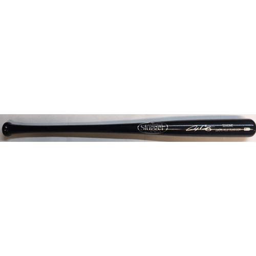 Alex Bregman Autographed Black Louisville Slugger Bat