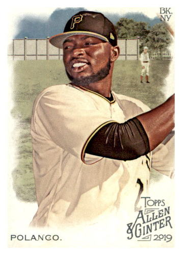 Photo of 2019 Topps Allen and Ginter #251 Gregory Polanco