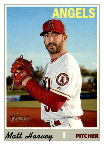 Photo of 2019 Topps Heritage #674 Matt Harvey