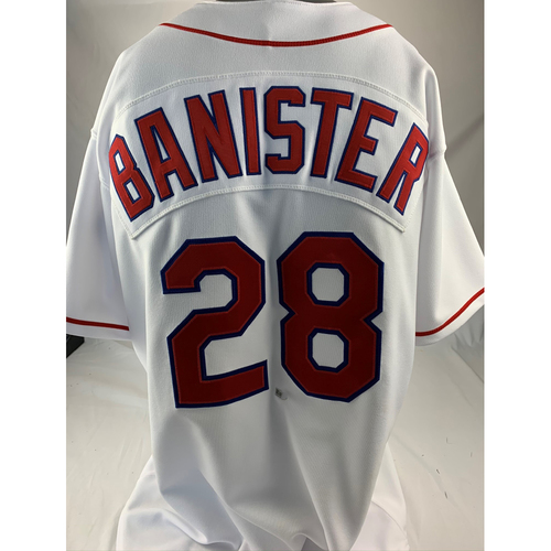Photo of Game-Used 1996 Turn Back the Clock Jersey - Jeff Banister - 239th Career Win