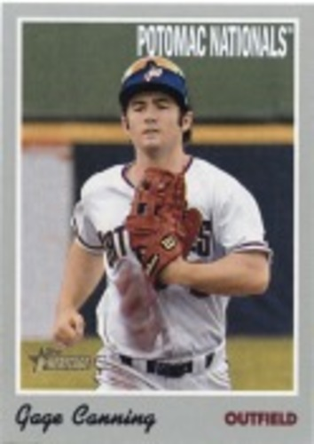 Photo of 2019 Topps Heritage Minors #72 Gage Canning