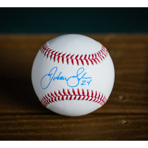 Photo of Jordan Lyles Autographed Baseball - NOT MLB AUTHENTICATED - Certificate of Authenticity Included
