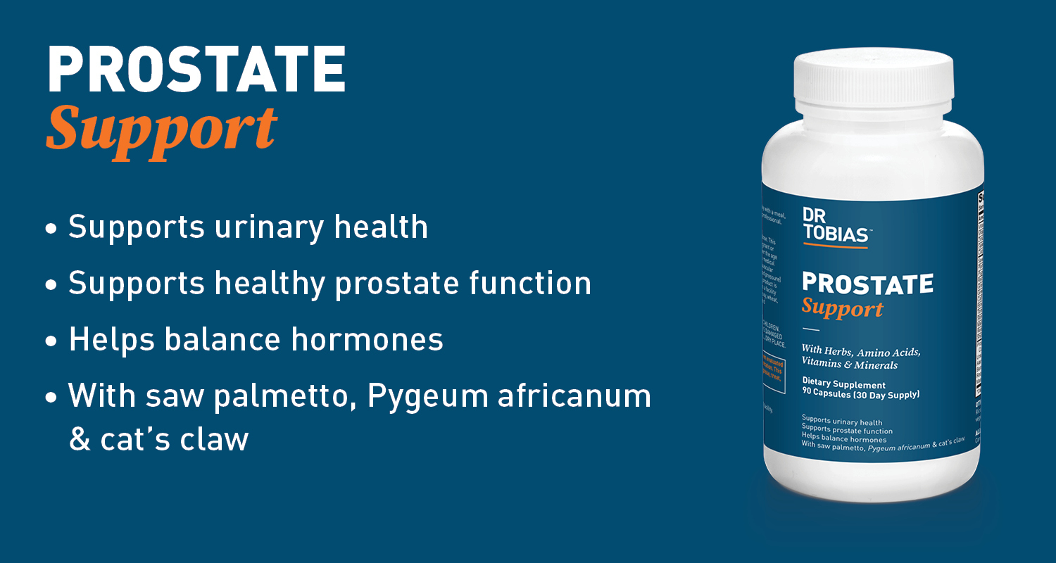 Product second banner image for PROSTATE SUPPORT