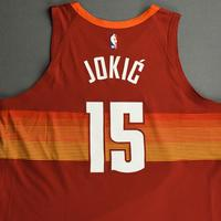 Nikola Jokic - Denver Nuggets - Game-Worn City Edition Jersey - Christmas Day' 20 - Recorded a Double-Double