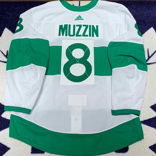 Jake Muzzin 2018-19 St. Pats Set 1 Game Worn Jersey