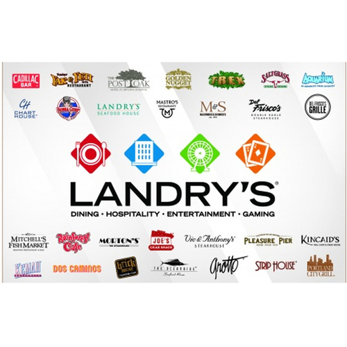 Photo of UMPS CARE AUCTION: $100 Landry's Gift Card