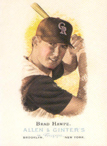 Photo of 2006 Topps Allen and Ginter #323 Brad Hawpe
