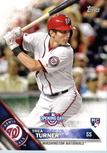 Photo of 2016 Topps Opening Day #OD154 Trea Turner RC