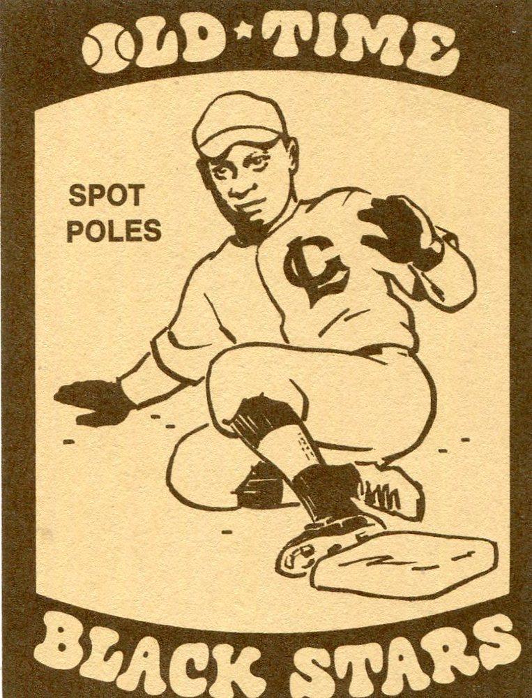 1974 Laughlin Old Time Black Stars #21 Spot Poles