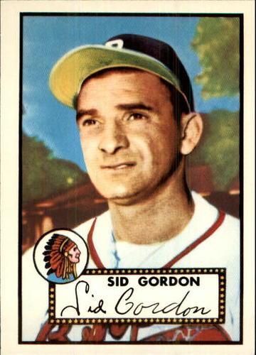 Photo of 1983 Topps 1952 Reprint #267 Sid Gordon