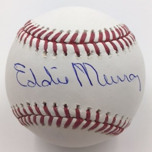 Photo of Eddie Murray Autographed Baseball