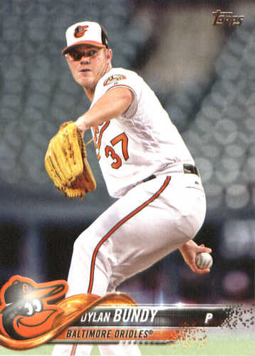 Photo of 2018 Topps #3 Dylan Bundy