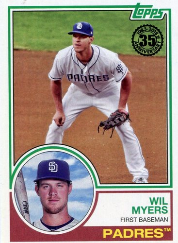 Photo of 2018 Topps '83 Topps #8394 Wil Myers