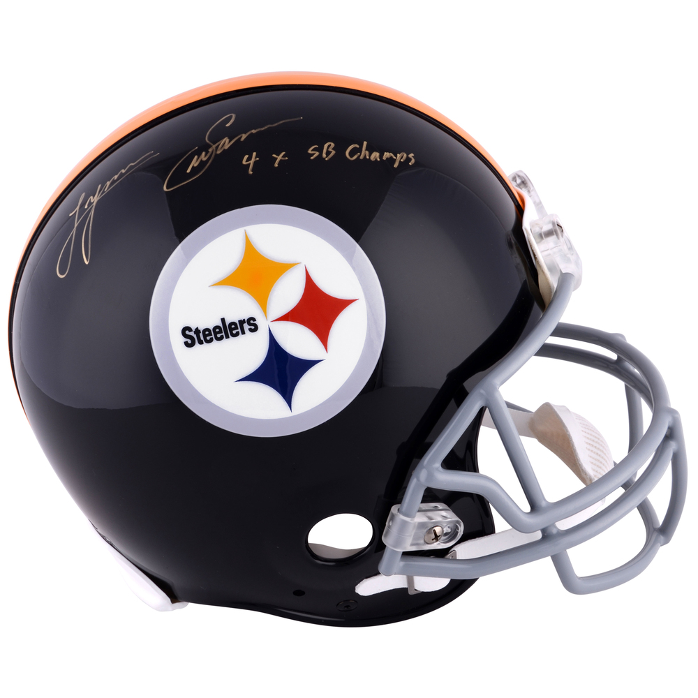 Lynn Swann Pittsburgh Steelers Autographed Riddell Pro-Line Throwback Helmet with