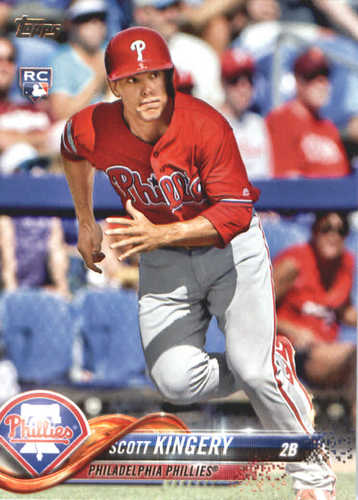 Photo of 2018 Topps #409 Scott Kingery RC