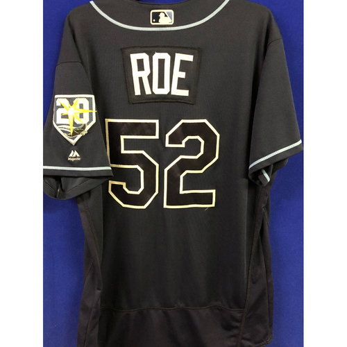 Photo of 20th Anniversary Game-Used Alternate Jersey: Chaz Roe - September 29, 2018 v TOR