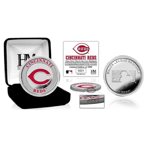 Photo of Cincinnati Reds Silver Color Coin