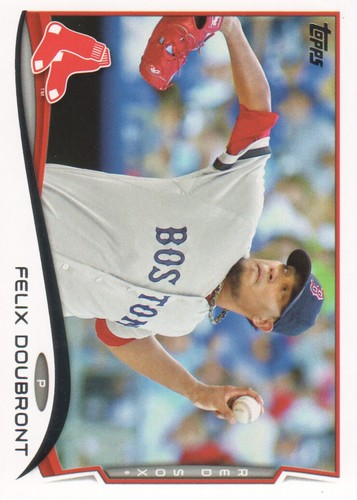 Photo of 2014 Topps #491 Felix Doubront