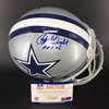 HOF - Cowboys Rayfield Wright Signed Proline Helmet