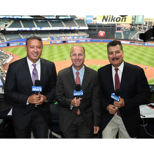 Photo of Amazin' Auction: Visit to SNY Booth during a Mets home game