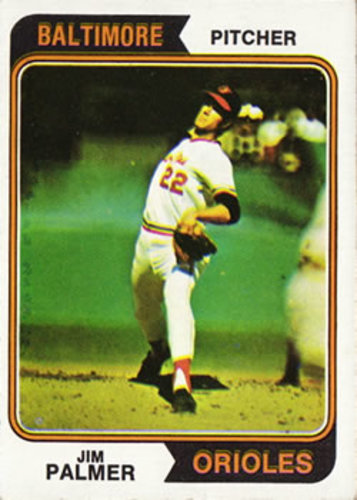 Photo of 1974 Topps #40 Jim Palmer