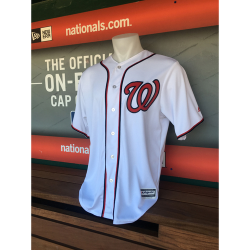 Photo of Jerseys Off Their Backs - Trea Turner Game-Used, Autographed Jersey