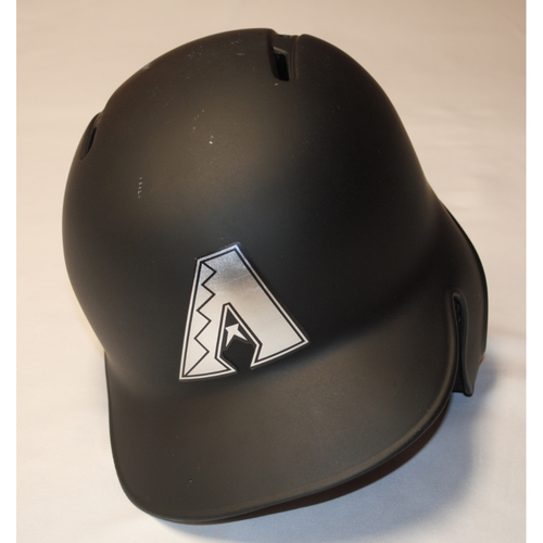 "Photo of Merrill ""MERT"" Kelly Arizona Diamondbacks Game-Used 2019 Players' Weekend Helmet"
