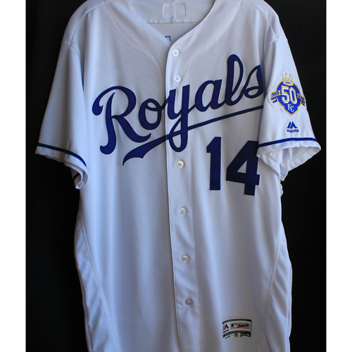 Photo of Game-Used Jersey: Brett Phillips (Size 46 - 9/15/18 - MIN @ KC)