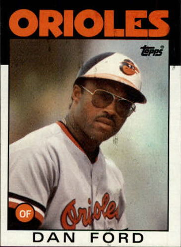 Photo of 1986 Topps #753 Dan Ford