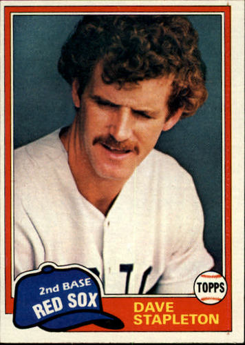 Photo of 1981 Topps #81 Dave Stapleton RC
