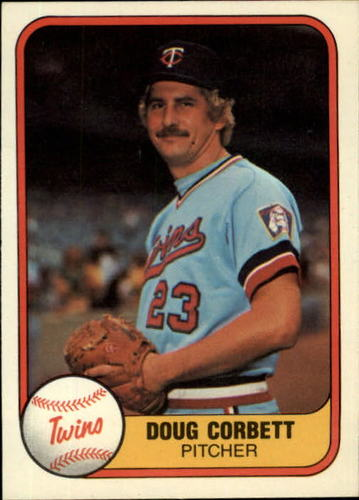 Photo of 1981 Fleer #555 Doug Corbett RC