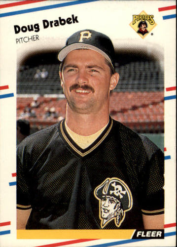 Photo of 1988 Fleer #327 Doug Drabek