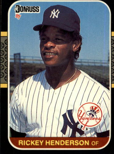 Photo of 1987 Donruss #228 Rickey Henderson