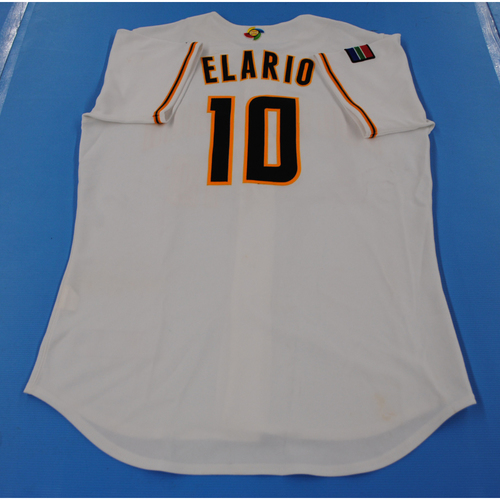 Photo of 2006 Inaugural World Baseball Classic: Jared Elario Game-worn Team South Africa Home Jersey