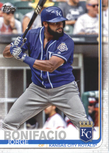 Photo of 2019 Topps #427 Jorge Bonifacio