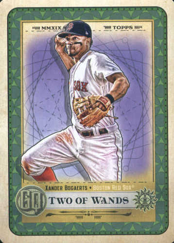 Photo of 2019 Topps Gypsy Queen Tarot of the Diamond #3 Xander Bogaerts