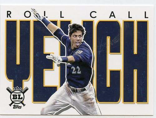 Photo of 2020 Topps Big League Roll Call #RC8 Christian Yelich