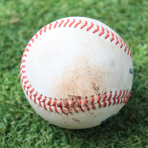 Photo of Game-Used Baseball: Marwin Gonzalez 775th Career Hit (MIN @ KC 8/8/20)