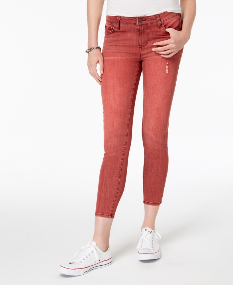 Photo of Celebrity Pink Women's High Rise Ankle Skinny Jeans