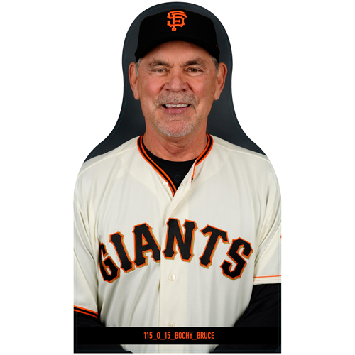 Photo of Giants Community Fund: Giants Bruce Bochy Cutout
