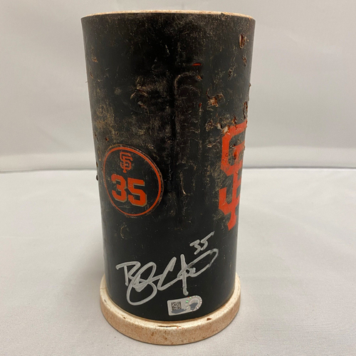 Photo of #35 Brandon Crawford 2020 Autographed Bat Weight