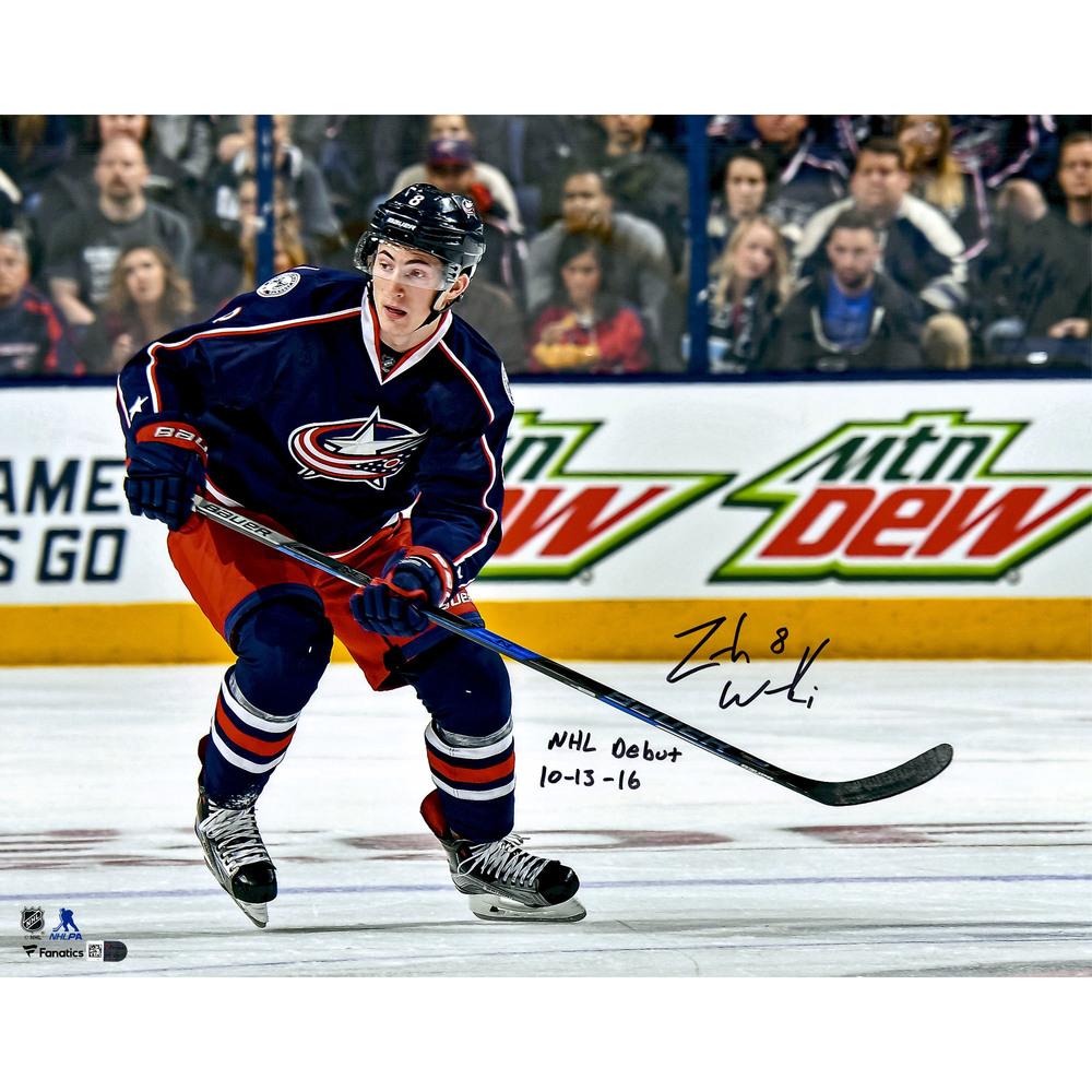 Zach Werenski Columbus Blue Jackets Autographed 16