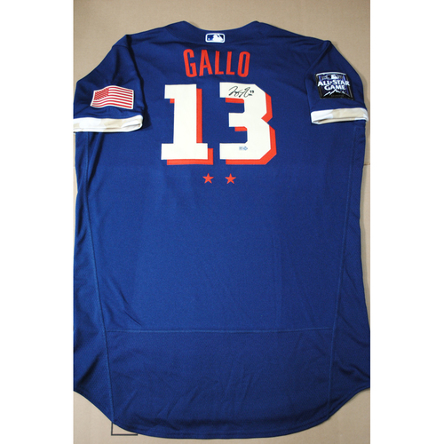 Photo of Joey Gallo 2021 Major League Baseball All-Star Game Autographed Jersey