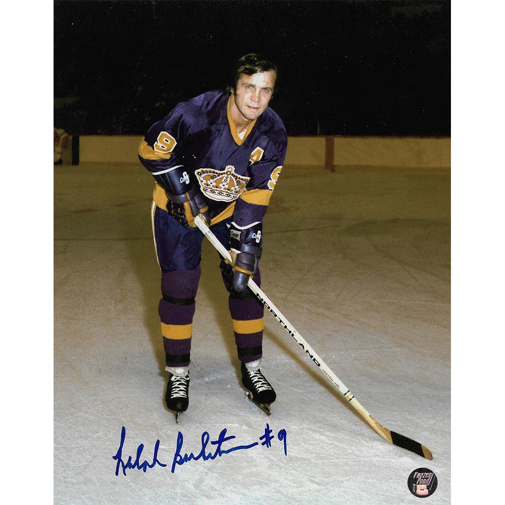 Ralph Backstrom Autographed Los Angeles Kings 8X10 Photo