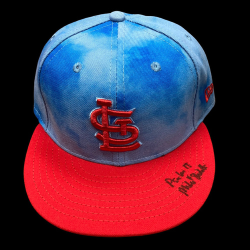 Mike Shildt Autographed Team Issued Father's Day Cap (Size 7 1/4)