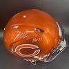HOF - Bears Mike Singletary Signed Authentic Flash Helmet with