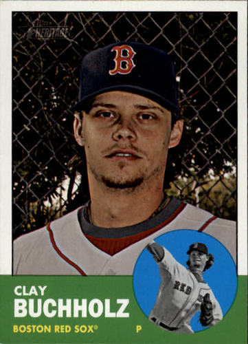 Photo of 2012 Topps Heritage #251 Clay Buchholz