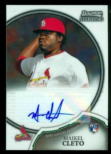 Photo of 2011 Bowman Sterling Rookie Autographs #20 Maikel Cleto